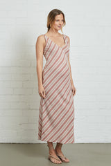 Linen Simona Dress - Spice, Maternity