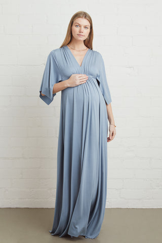Long Caftan Dress - Bay, Maternity