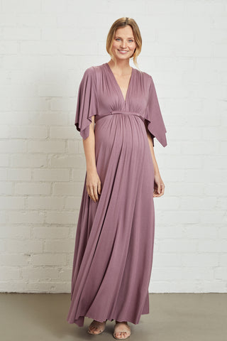 Long Caftan Dress - Orchid, Maternity
