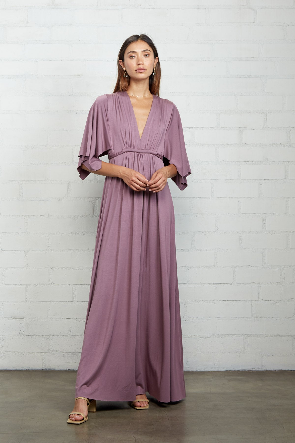 Long Caftan Dress - Orchid