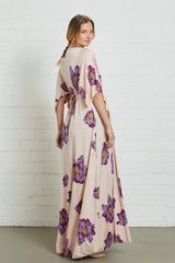 Long Caftan Dress - Peony, Maternity