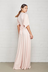 Long Caftan Dress - Shell