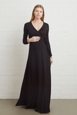 Harlow Dress - Black, Maternity