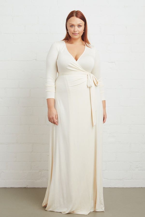 Harlow Wrap Dress - Plus Size