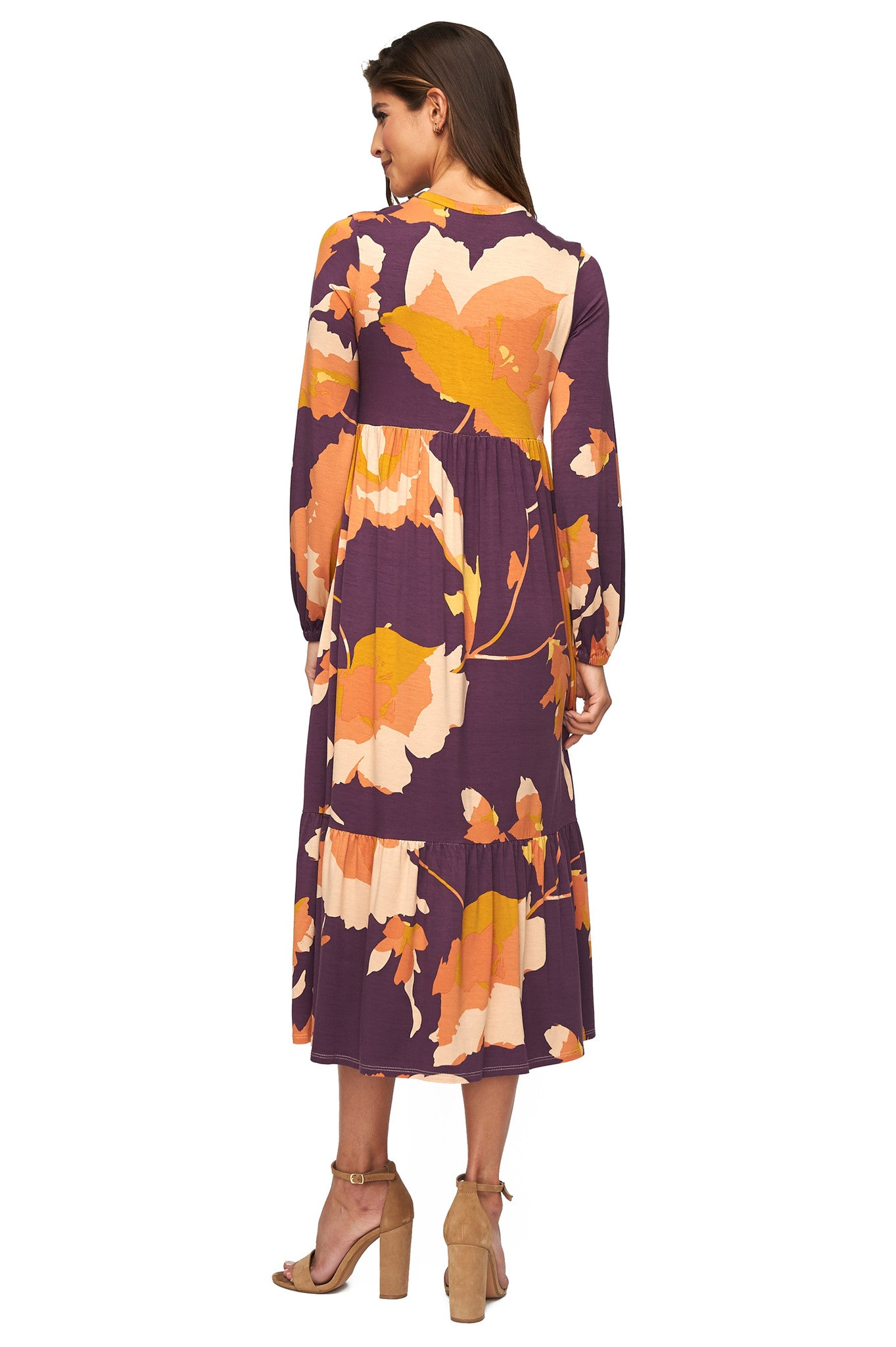 Kaemon Dress Print - Desert Flower