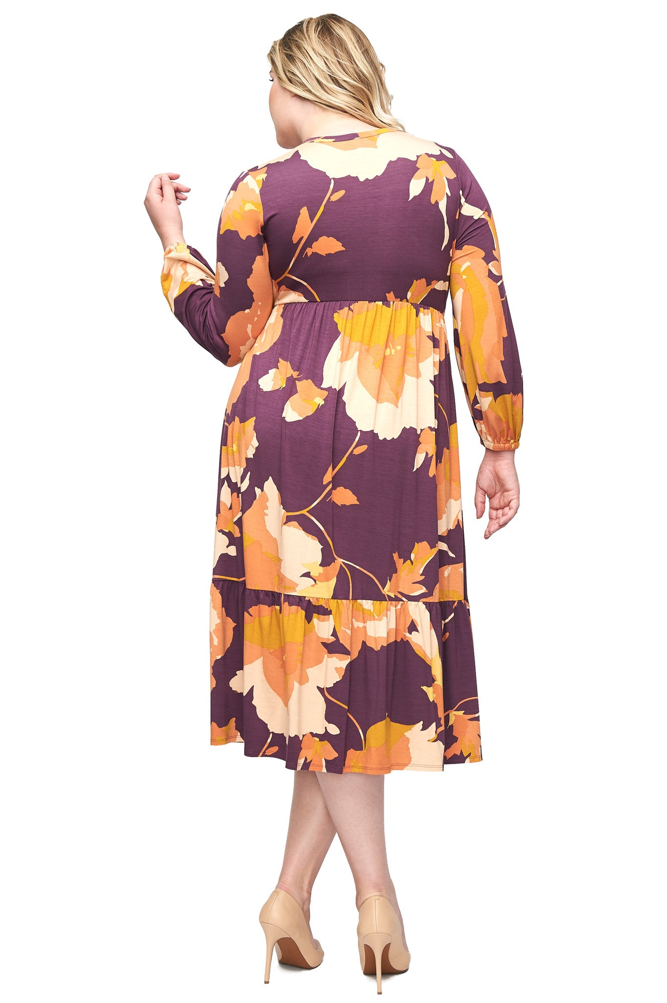 Kaemon Dress WL Print - Desert Flower