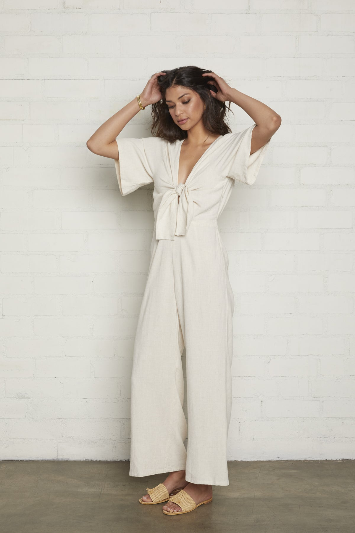 Leon Jumpsuit - Natural