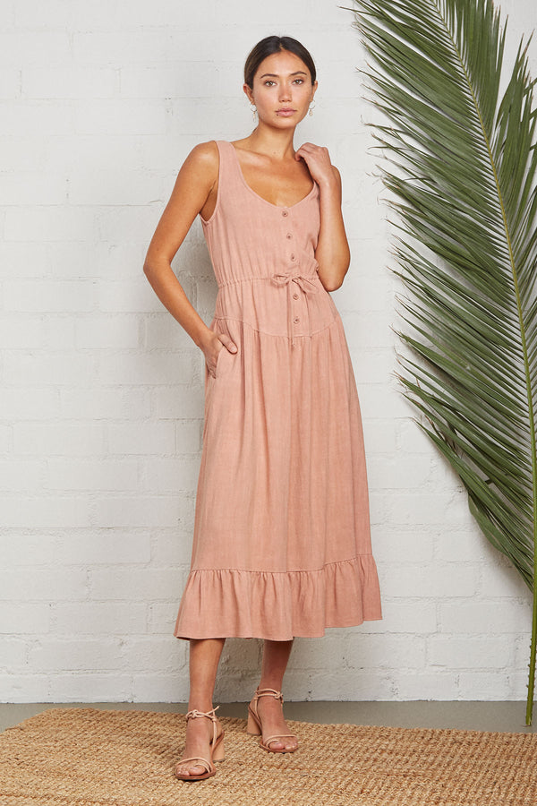 Linen Meadow Dress