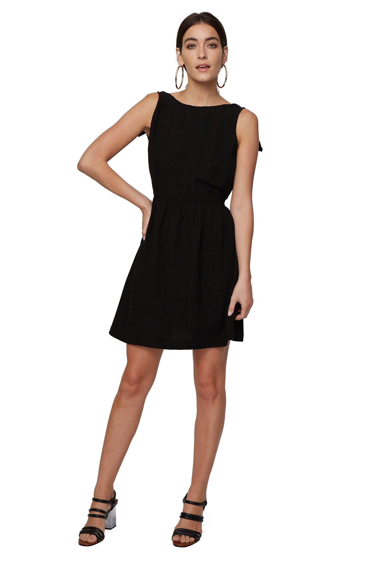Rachel pally official site linen adriano dress black ombrellifo Images