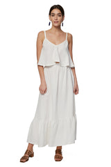 Linen Blaire Set - White