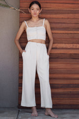 Linen Desiree Pants - Natural