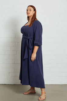 Linen Eris Dress - Plus Size