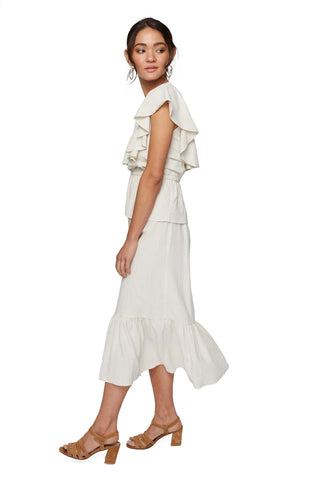 Linen Mariah Dress - Natural