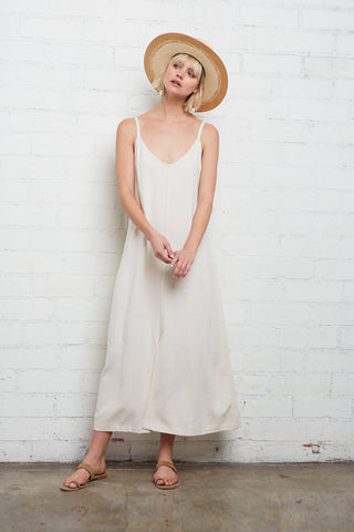 Linen Tallulah Dress - Natural