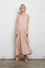Linen Willis Dress - Sand