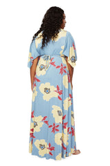 Long Caftan Dress - Bloom, Plus Size