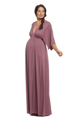 Long Caftan Dress - Cameo, Maternity