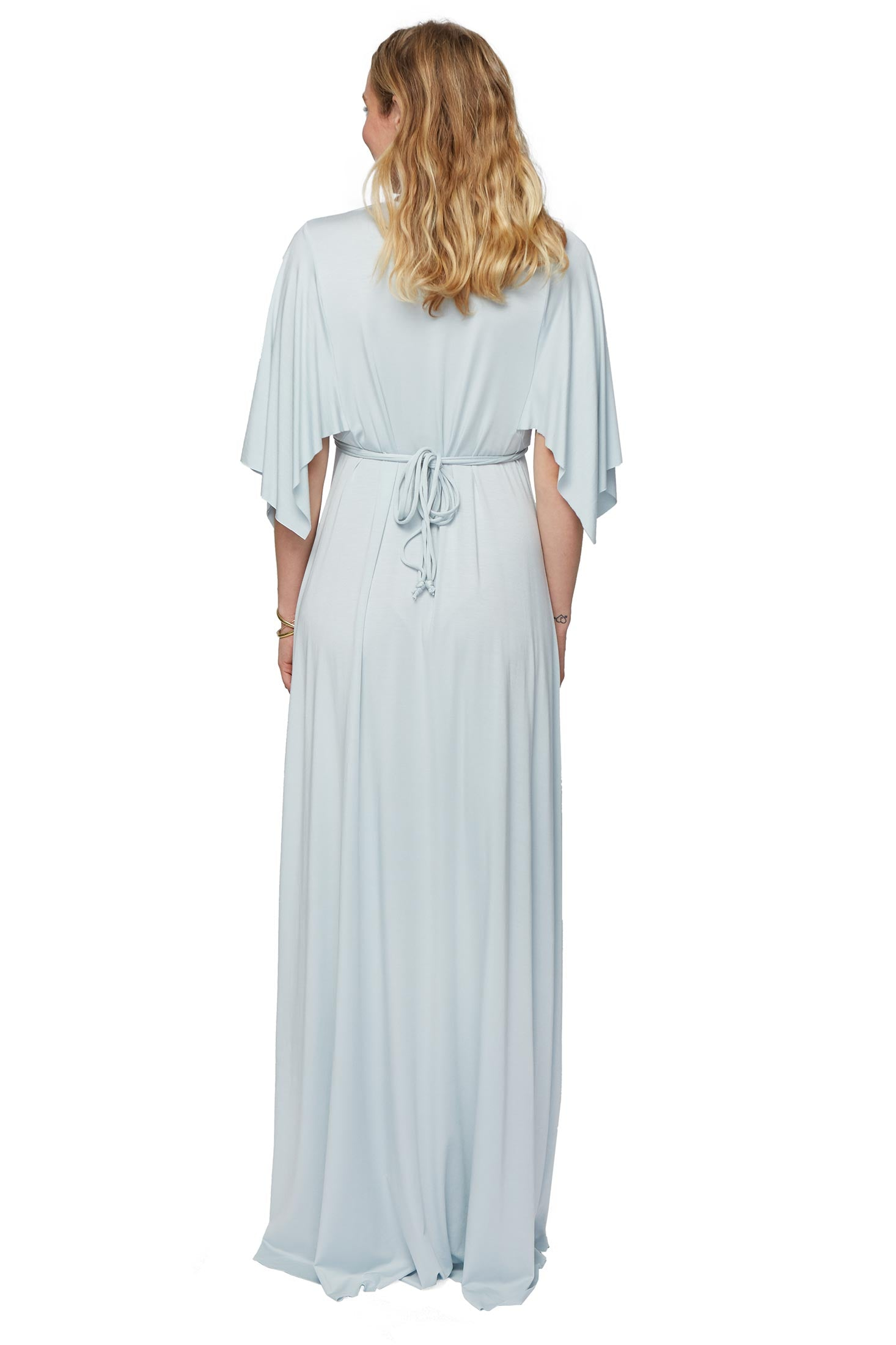 Long Caftan Dress - Cloud, Maternity