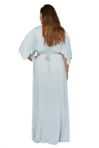 Long Caftan Dress - Cloud, Plus Size