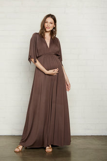 Long Caftan Dress - Maternity