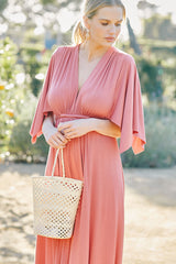 Long Caftan Dress - Cosmos