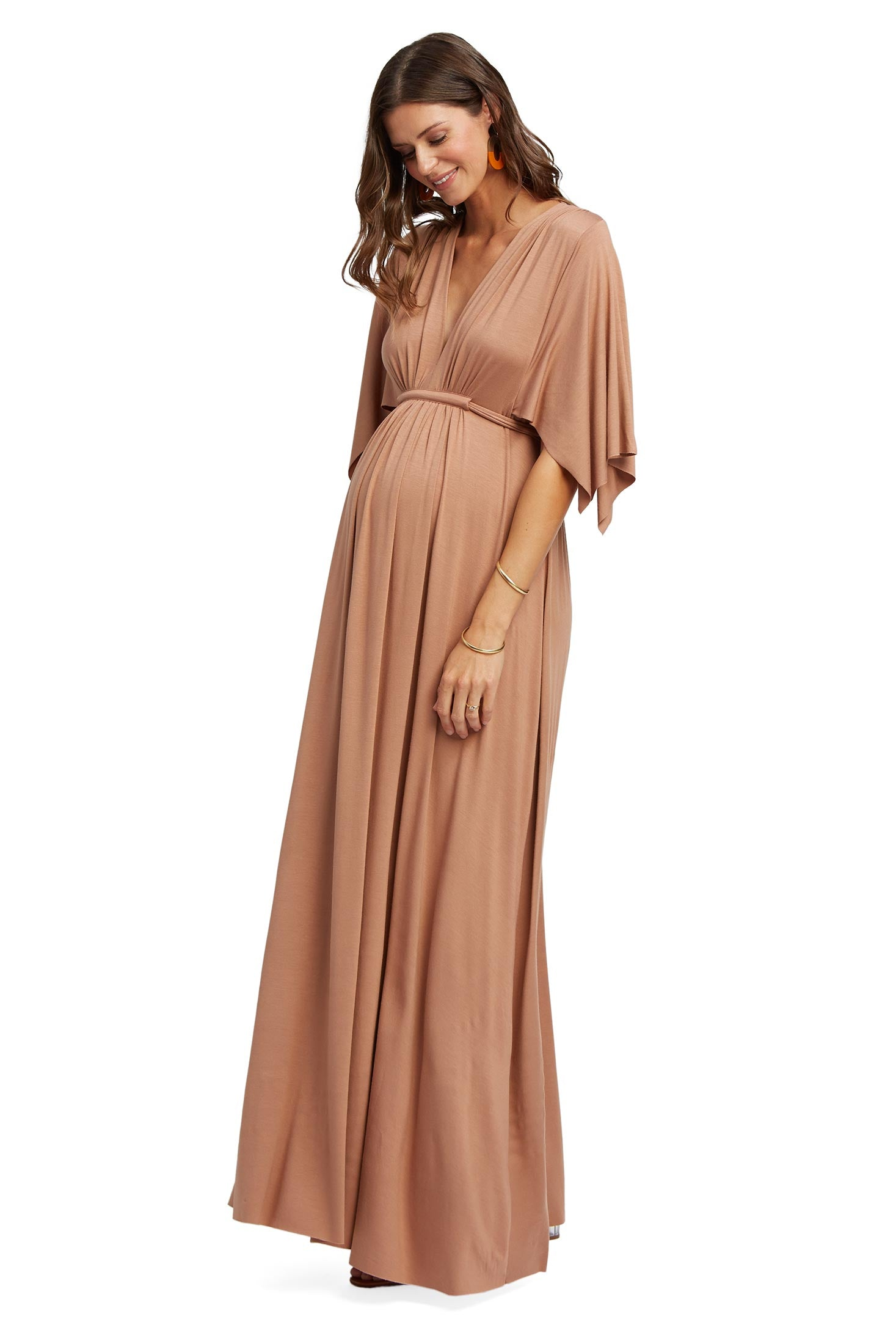 Long Caftan Dress - Dulce, Maternity