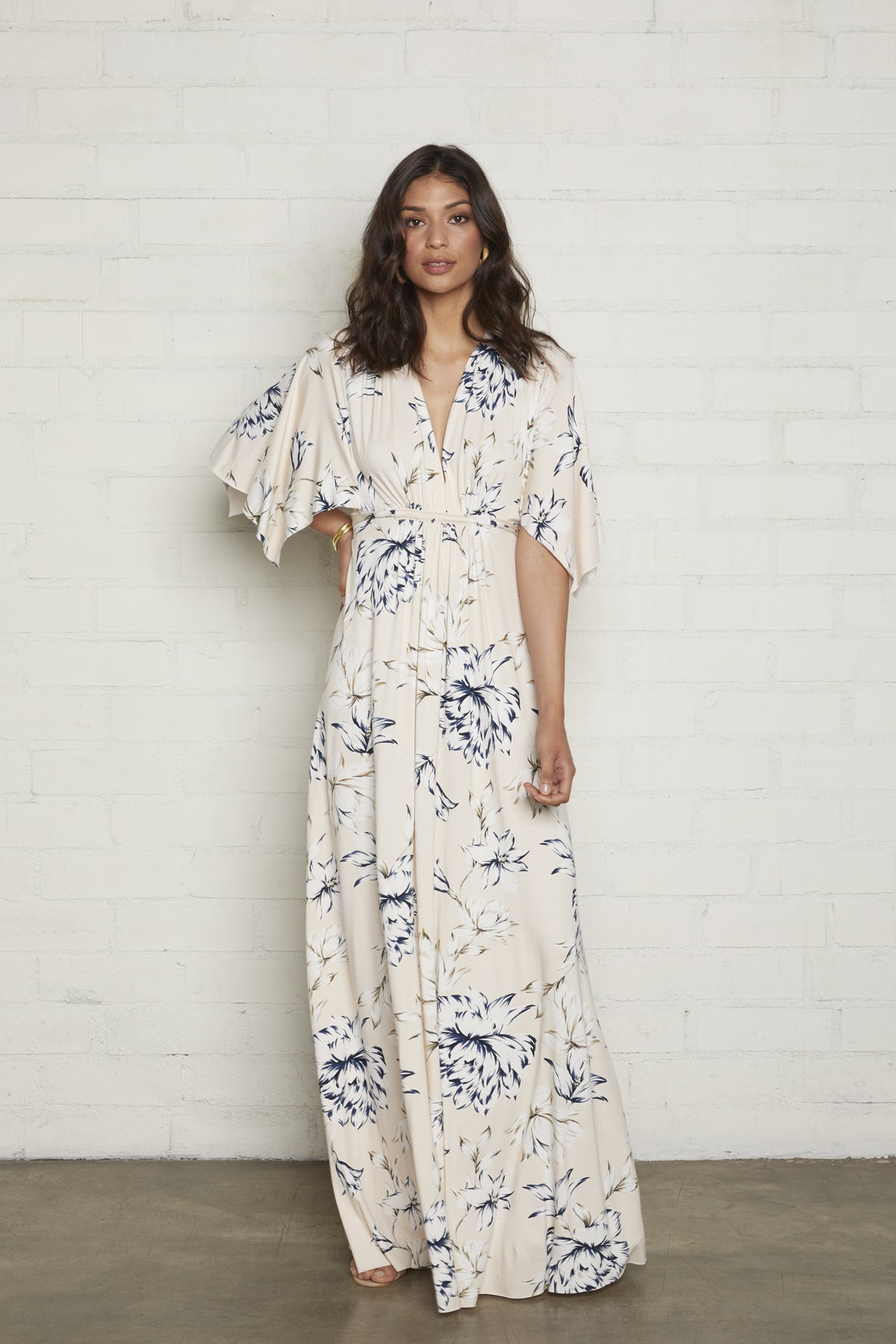 Long Caftan Dress - Fleur
