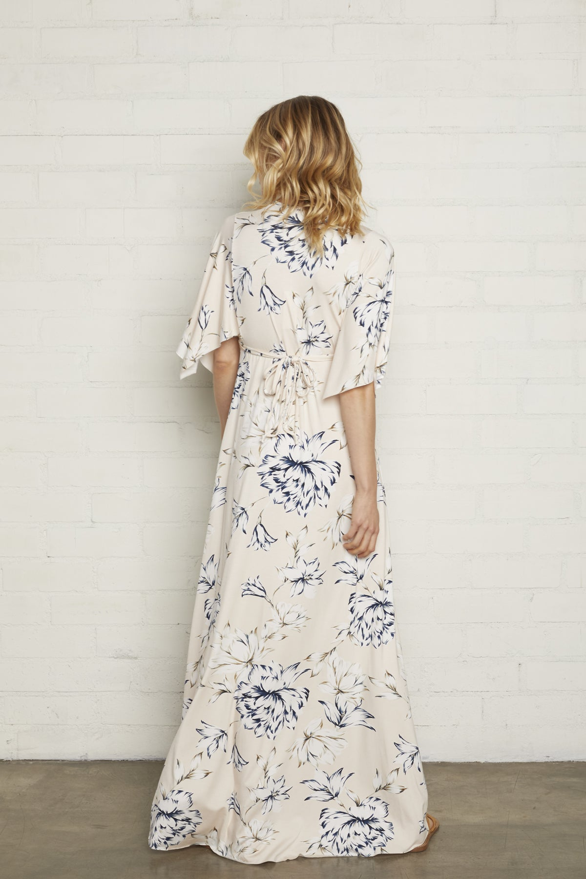 Long Caftan Dress - Fleur, Maternity