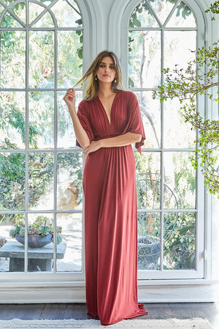 Long Caftan Dress - Gamay
