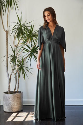 Long Caftan Dress - Juniper