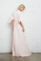 Long Caftan Dress - Petal