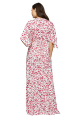 Long Caftan Dress Print - Lover Jardin