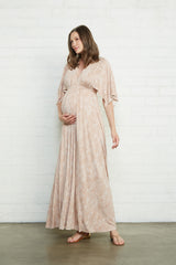 Long Caftan Dress - Snake, Maternity