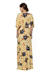 Long Caftan Dress Print - Tulip