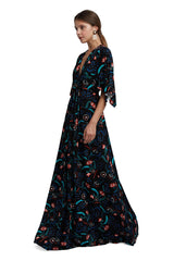 Long Caftan Dress - Vine