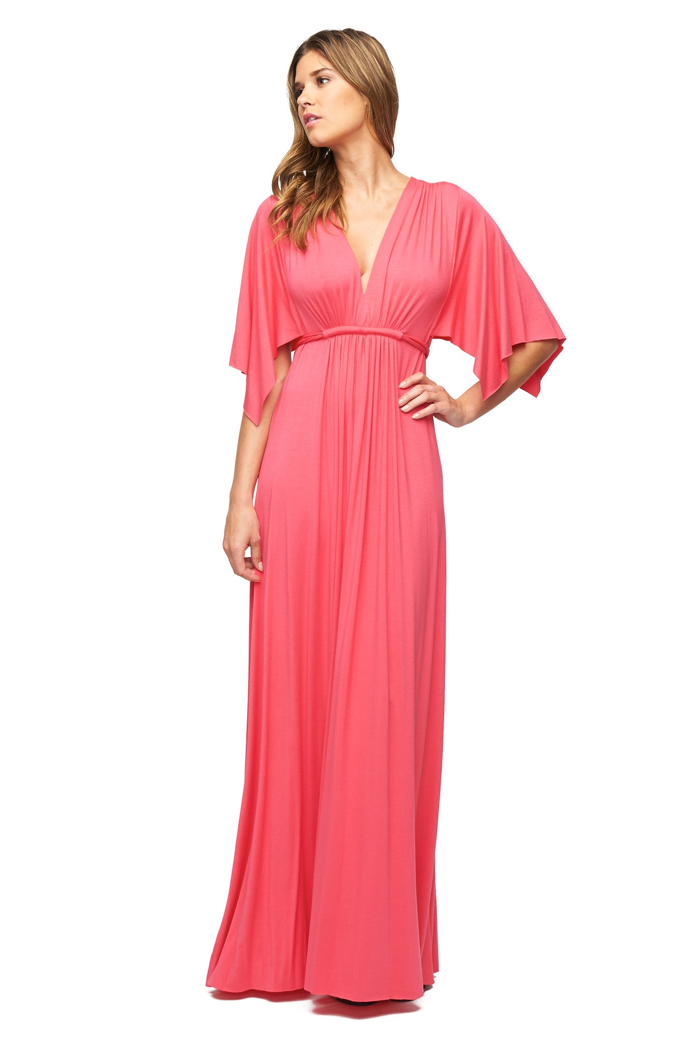 Long Caftan Dress - Sandia