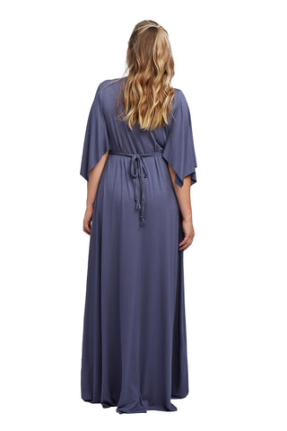 Long Caftan Slate, Plus Size