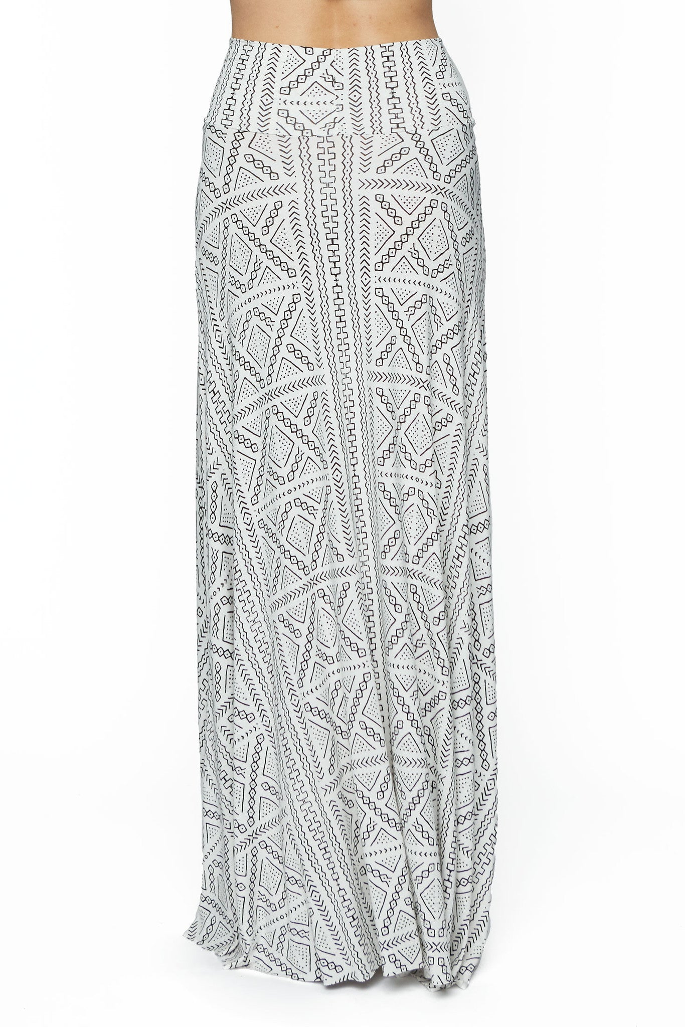 Long Full Skirt Print - Kinship