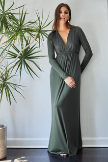 Long Sleeve Full Length Caftan Dress