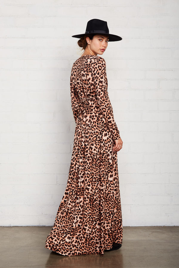 Long Sleeve Full Length Caftan