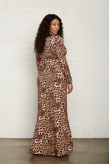 Long Sleeve Full Length Caftan - Plus Size