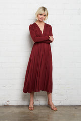 Long Sleeve Mid-Length Caftan - Gamay