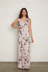 Long Sleeveless Caftan - Cane