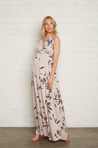 Long Sleeveless Caftan - Cane, Maternity
