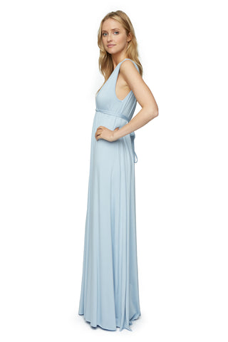 Long Sleeveless Caftan - Cielo