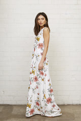 Long Sleeveless Caftan - Wildflower