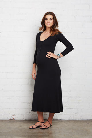 Lorelei Dress - Black, Maternity