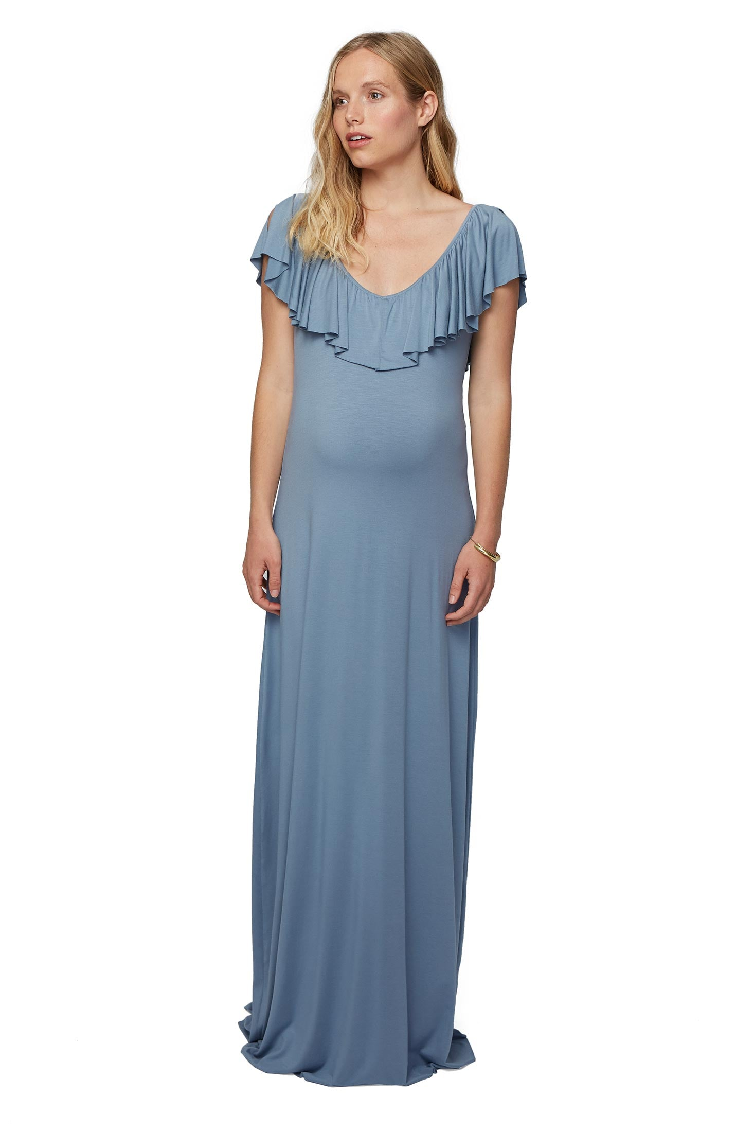 Loren Dress - Bay, Maternity – Rachel Pally