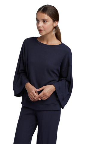 Luxe Rib Nikki Top - Ink