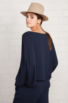 Pucker Rayon Cisco Top